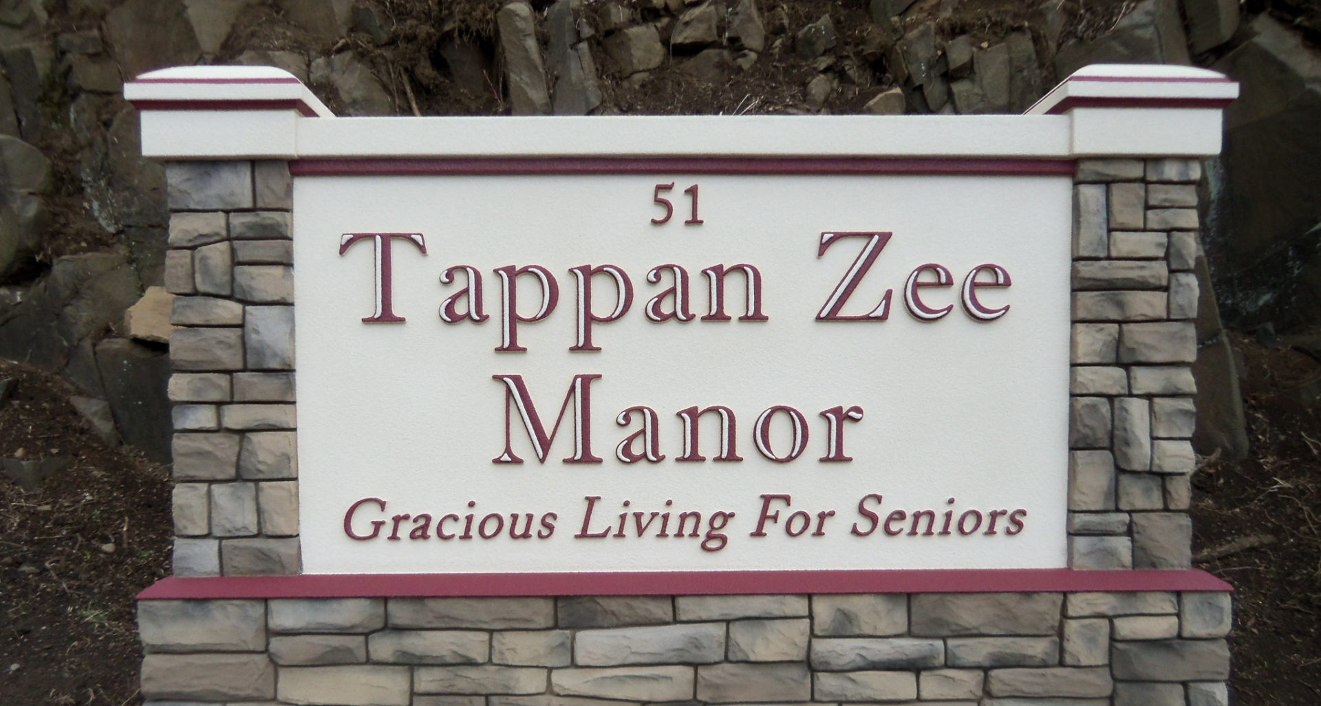Tappan Zee Manor - Street Sign